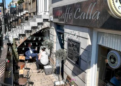 cafe calla outside